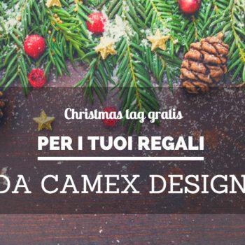 Christmas tag da stampare gratis